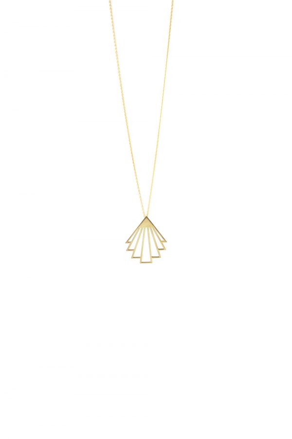 circe necklace (gold) 4