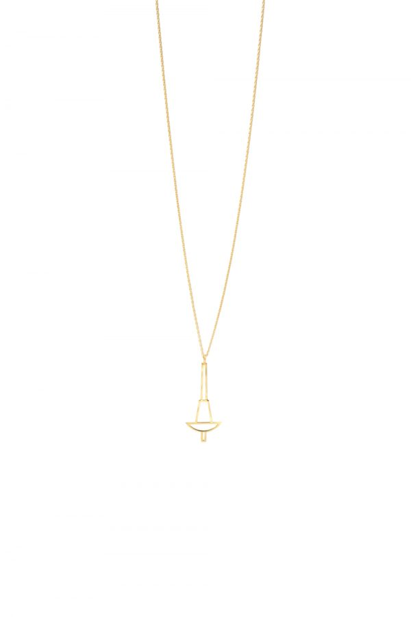 penelope necklace (gold) 3