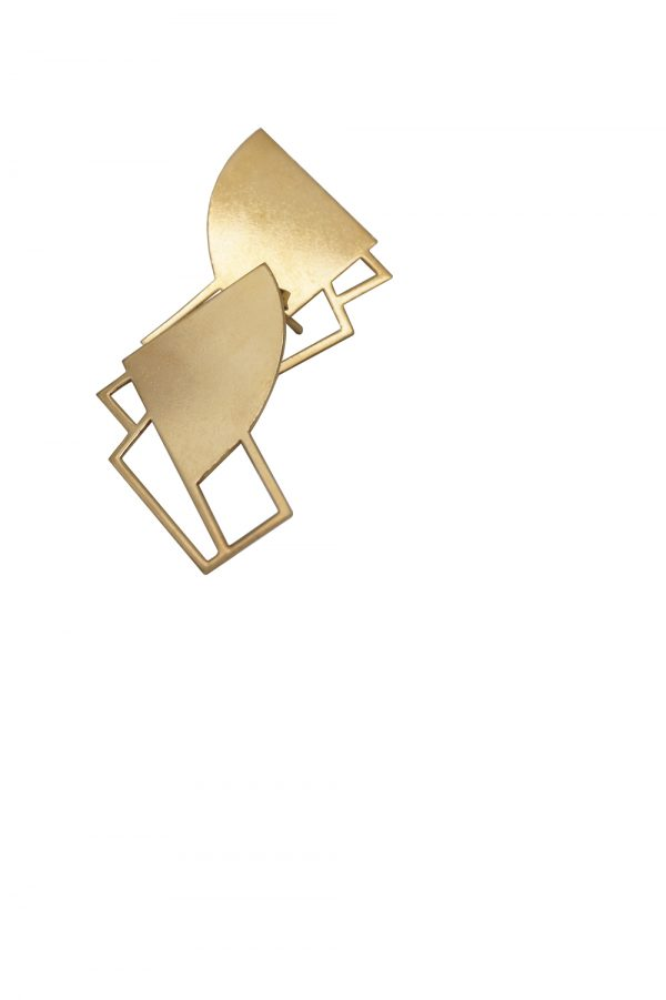 sirens earrings (gold) 7