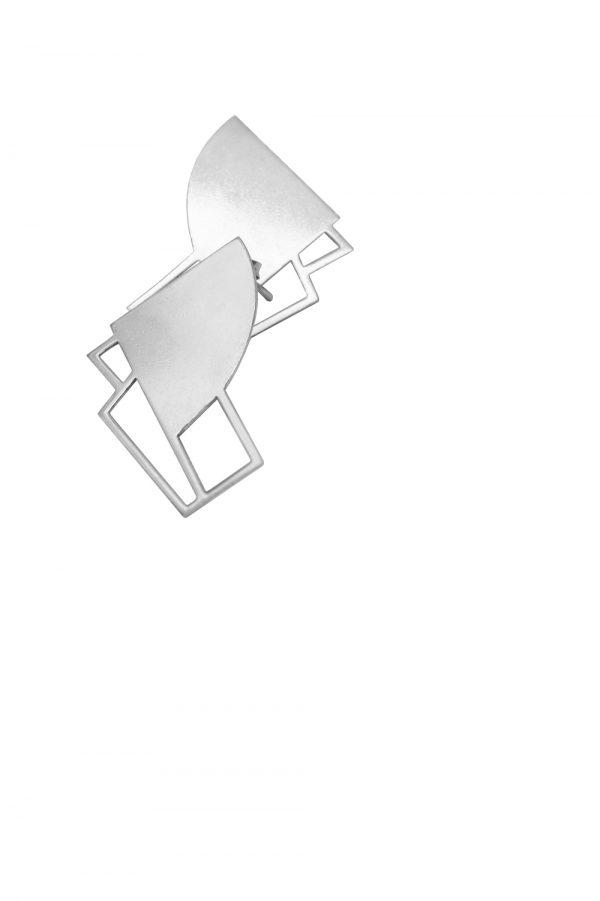 sirens earrings (silver) 6
