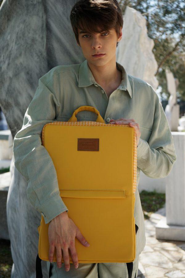 Zeus (yellow) rucksack 1