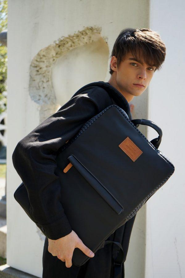 Zeus (black) rucksack 1