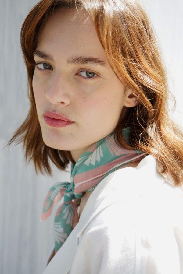 circe (mint) scarf 1