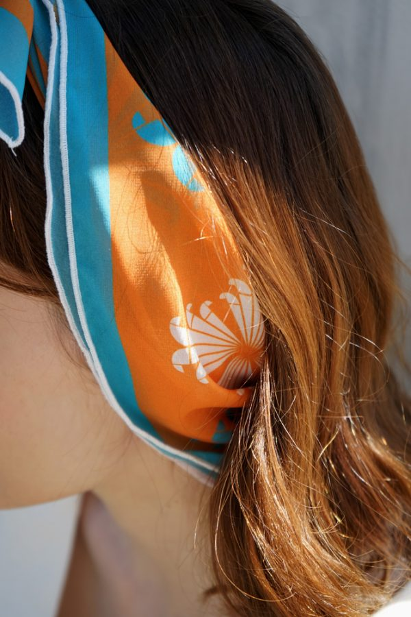 aeolus orange scarf 3