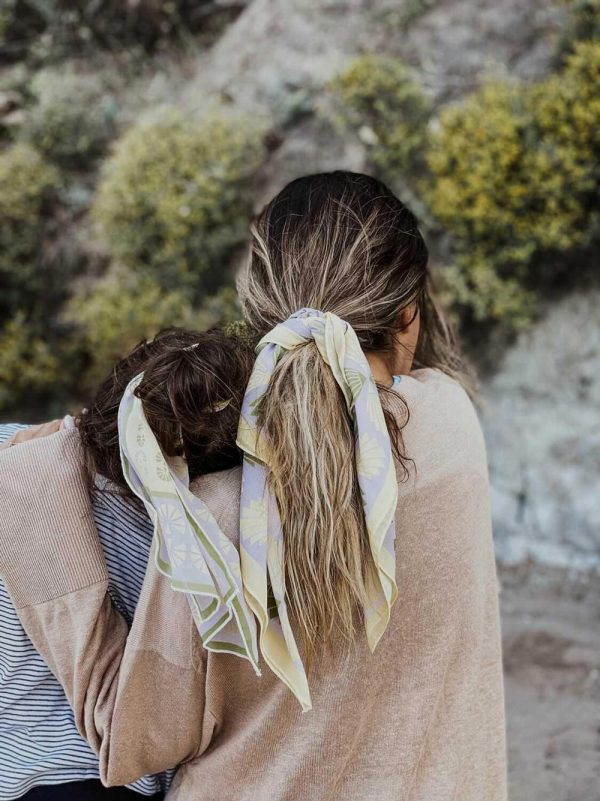 circe lilac scarf