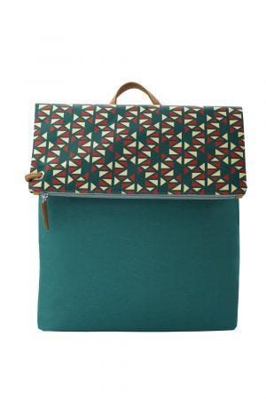 pomegranate green yellow backpack