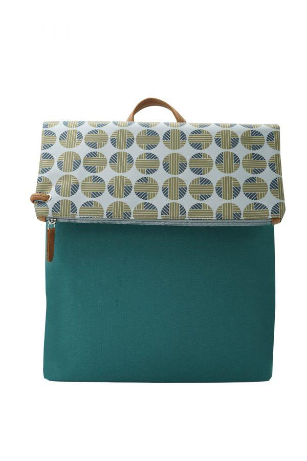 mitos green grey backpack