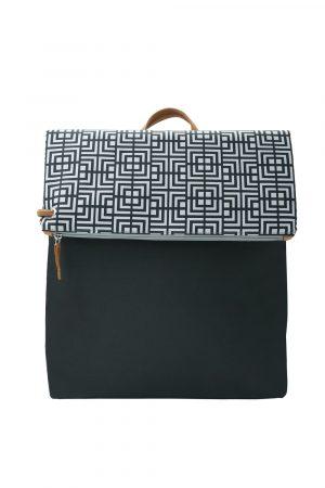 labyrinth black backpack