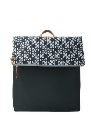 pomegranate black backpack