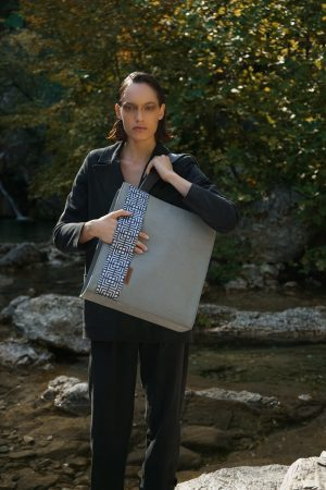 Labyrinth (grey) bag