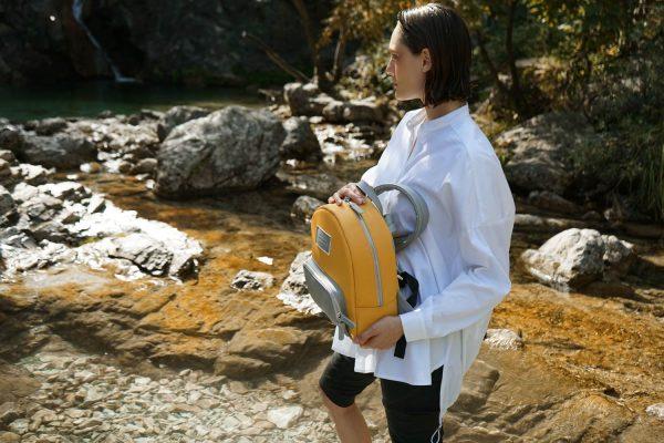 Zeus (yellow) mini backpack