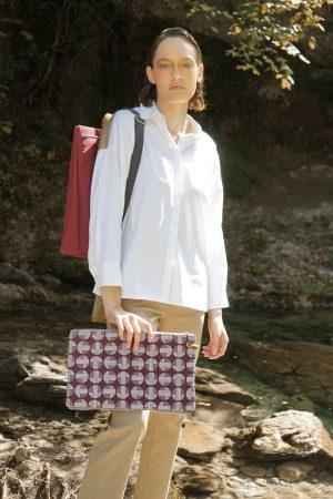 Mitos (dark red) backpack