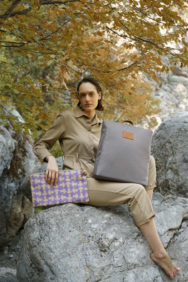 Mitos (purple yellow) backpack