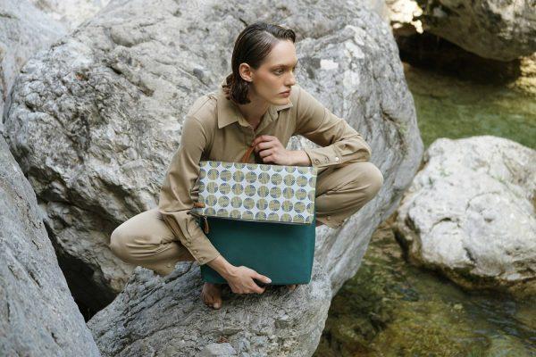Mitos (green grey) backpack