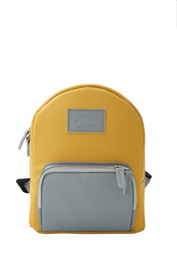 zeus mini backpack yellow