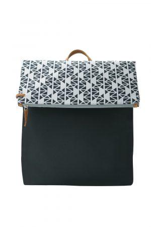pomegranate grey black backpack