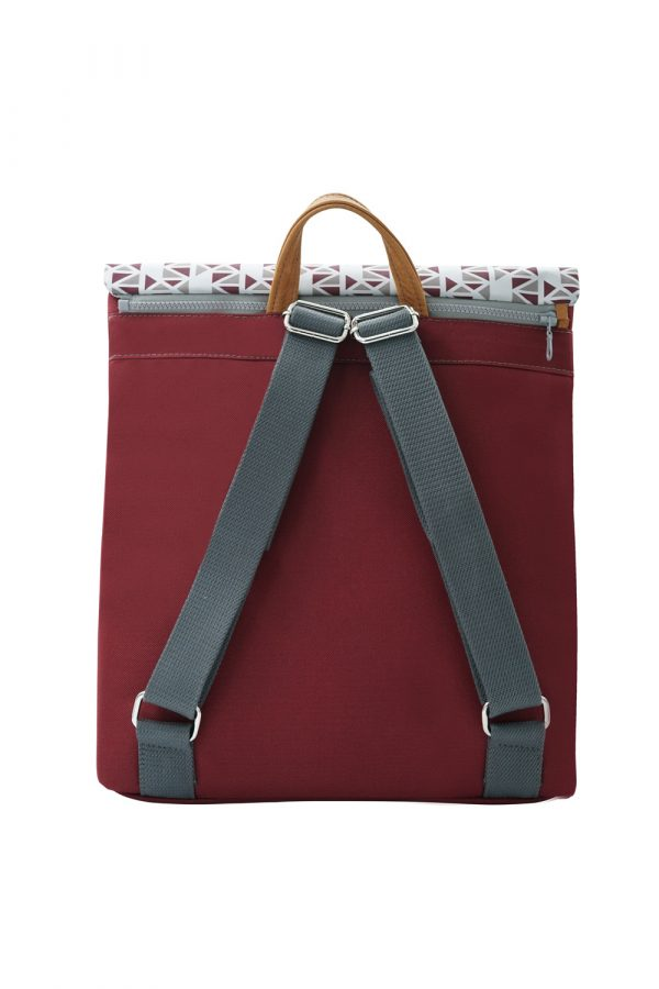 pomegranate dark red backpack
